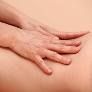 Massage LWS+Hände Astrid+Sabine
