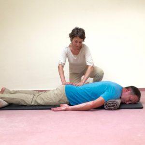 Paarmassage-Anleitung, Joint Release Massage, Sabine Zasche, Raum für Bewusstsein